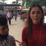 Aida Saskia Temani Sepupu Laporkan Penganiayaan ke Polres Metro Jaksel