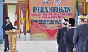 Bupati Jarot Sebut Universitas Kapuas Sintang Perguruan Tinggi Terunggul di Wilayah Timur Kalbar 2