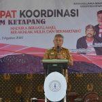Bupati Martin Hadiri Rakorcab IKBM Ketapang 5