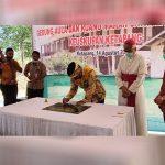 Bupati Martin Rantan Resmikan Gedung Aula Chatolic Centre Keuskupan Ketapang 22