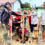 Bupati Sekadau Lakukan Penancapan Tiang Pertama Pembangunan Steleng Dusun Senuruk 22