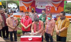 Bupati dan Wabup Sekadau Deklarasikan Ensalang Sebagai Desa ODF 4
