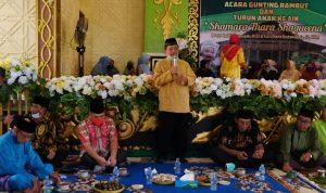 Bupati dan Wakil Bupati Sekadau Hadiri Pagelaran Adat Budaya Melayu Sintang Bertajuk Ritual Gunting Rambut 4