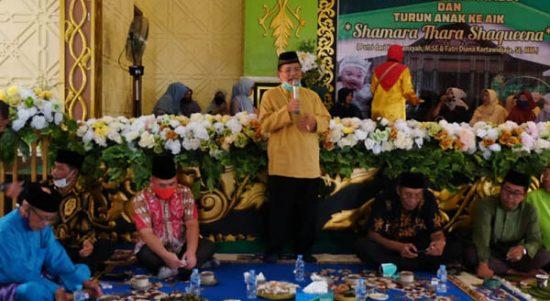 Bupati dan Wakil Bupati Sekadau Hadiri Pagelaran Adat Budaya Melayu Sintang Bertajuk Ritual Gunting Rambut 1
