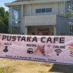 Tingkatkan Minat Baca, DKPD Ketapang Hadirkan Pustaka Cafe 24