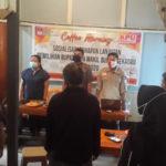 KPU Sekadau Coffee Morning Bersama Wartawan Sosialisasikan Tahapan Lanjutan Pilkada 2020 5