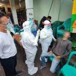 Cegah Kluster Baru, Pemkot Pontianak Razia Masker di Pasar Flamboyan 9
