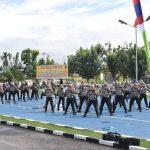 Polres Sekadau Gelar Latihan Dalmas Mantapkan Kesiapan Pengamanan Pilkada 18