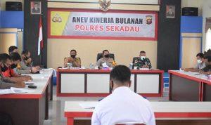 Rakor Persiapan Pilot Project Adaptasi Kebiasaan Baru di Kabupaten Sekadau 2