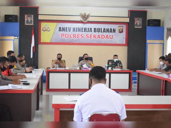 Rakor Persiapan Pilot Project Adaptasi Kebiasaan Baru di Kabupaten Sekadau 1
