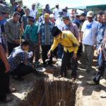 Sekda Farhan Letakkan Batu Pertama Pembangunan Masjid Miftahul Jannah 5