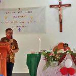 Wabup Sekadau Hadiri Syukuran HUT Gereja Santo Kristoforus 26