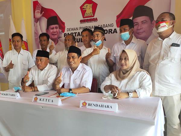Yuslanik Ditunjuk Prabowo Subianto Pimpin DPC Gerindra Kubu Raya 2