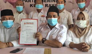 Yuslanik Ditunjuk Prabowo Subianto Pimpin DPC Gerindra Kubu Raya 1