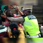 Aksi Heroik Anggota Satlantas Polres Melawi Evakuasi Ibu Melahirkan ke Rumah Sakit 13