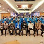 Bupati Ketapang, Martin Rantan menghadiri pelantikan kepengurusan KNPI Ketapang