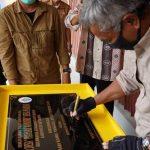 Bupati Martin Rantan Kembali Resmikan Pasar Desa 20