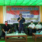 Bupati Rupinus Launching Internet Desa di Kecamatan Sekadau Hulu 19