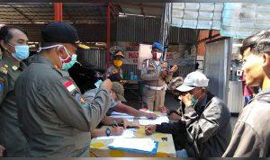 Disiplinkan Warga Terhadap Protokol Kesehatan, Satpol PP Kubu Raya Razia Masker 1