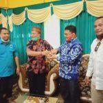 Yohanes Rumpak-Syarifuddin Mohon Restu dan Dukungan Kesultanan Sintang 3