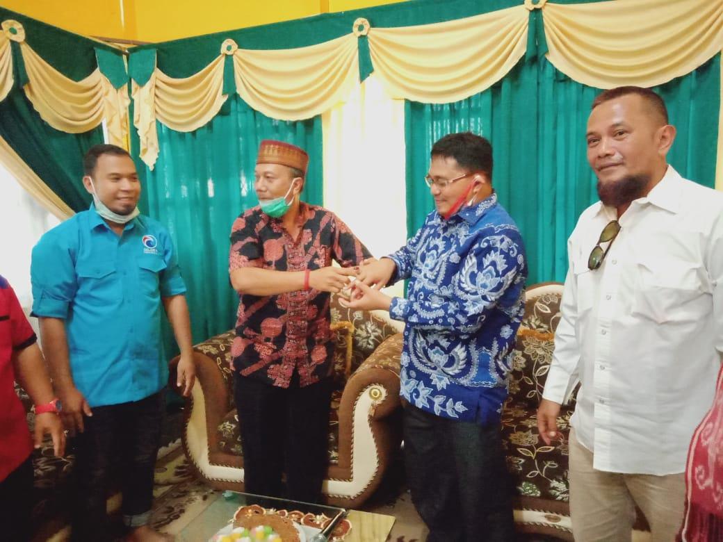 Yohanes Rumpak-Syarifuddin Mohon Restu dan Dukungan Kesultanan Sintang 1