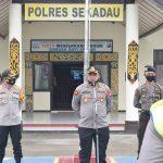Kabidkum Polda Kalbar Berikan Arahan ke Personel Polres Sekadau Hadapi Pilkada Serentak 2020 8