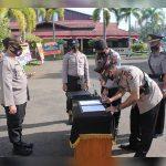 Kapolres Pimpin Sertijab Sejumlah Pejabat di Lingkungan Polres Ketapang 14