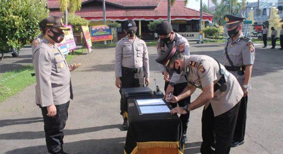 Kapolres Pimpin Sertijab Sejumlah Pejabat di Lingkungan Polres Ketapang 1