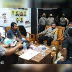 Laksanakan Cipta Kondisi, Kapolres Ketapang Cek Pengamanan Kantor KPU dan Bawaslu 15