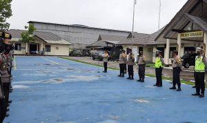 Pengamanan Rapat Penetapan Paslon Pilkada, Polres Sekadau Kedepankan Protokol Kesehatan 3