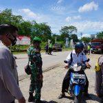 Personel Gabungan di Kabupaten Sekadau Gelar Operasi Yustisi Pendisiplinan Protokol Kesehatan 6