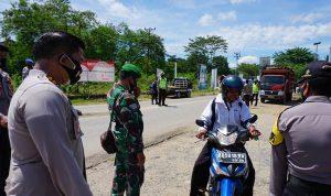Personel Gabungan di Kabupaten Sekadau Gelar Operasi Yustisi Pendisiplinan Protokol Kesehatan 2