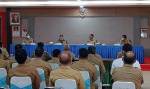 Pjs Bupati Sekadau Silaturahmi dan Temu Kenal Dengan para Kepala OPD di Hari Pertama Menjabat 2