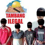 Polisi Kembali Amankan Pelaku PETI di Sandai Ketapang 6