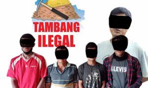Polisi Kembali Amankan Pelaku PETI di Sandai Ketapang 3
