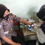 Polwan Sekadau Gelar Donor Darah Peringati HUT Polwan ke-72 16