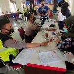 Satlantas Polres Sekadau Gelar Donor Darah Sambut Hari Lalu Lintas Bhayangkara ke-65 8