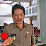 Wakil Bupati Kapuas Hulu, Antonius L Ain Pamero, Saat Diwawancari Awak Media