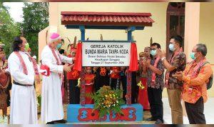 Wakili Pjs Bupati, Asisten II Setda Sekadau Resmikan Gereja Katolik Bunda Maria Tanpa Noda Selimus 2