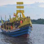 Ziarah Akbar Kerajaan Matan Tanjungpura, Lancang Kuning Arungi Sungai Pawan 6