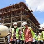 Gubernur Kalbar dan Sekjen Kemenkes Tinjau Pembangunan Gedung Baru RSUD Soedarso Pontianak