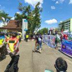 Aliansi Buruh Kalbar demo tolak Omnibus Law Cipta Kerja di DPRD Kalbar
