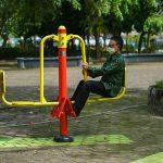Pemkot Pontianak Lengkapi Fasilitas Taman dengan Alat Olahraga 5