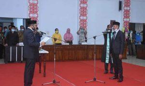 Plt Bupati Hadiri Pelantikan PAW Anggota DPRD Ketapang 4