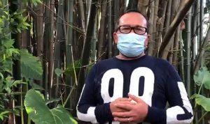 Wakil Bupati Kubu Raya, Sujiwo mengumumkan dirinya dan dua orang dekat di lingkungan kerjanya positif Covid-19