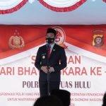 Bupati Sis Apresiasi Peran Aktif Polres Kapuas Hulu Bantu Pemkab Jaga Kamtibmas dan Tangani Covid