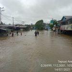 Empat Kecamatan di Kapuas Hulu Terendam Banjir: Akses Pontianak-Putussibau Putus