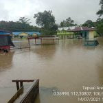 Wabup Kapuas Hulu Turun ke Tepuai Pantau Banjir