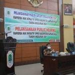 Wabup Wahyudi Hidayat Hadiri FGB dan Publik Hearing Raperda Inisiatif DPRD