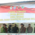 Wabup Wahyudi Monitor PPKM Mikro di Badau